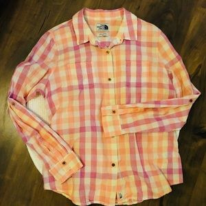 The North Face XL button down shirt